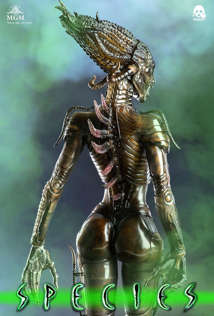 男人最可怕的夢魘!! threezero《異種》Species Sil 1/6 比例可動人偶作品