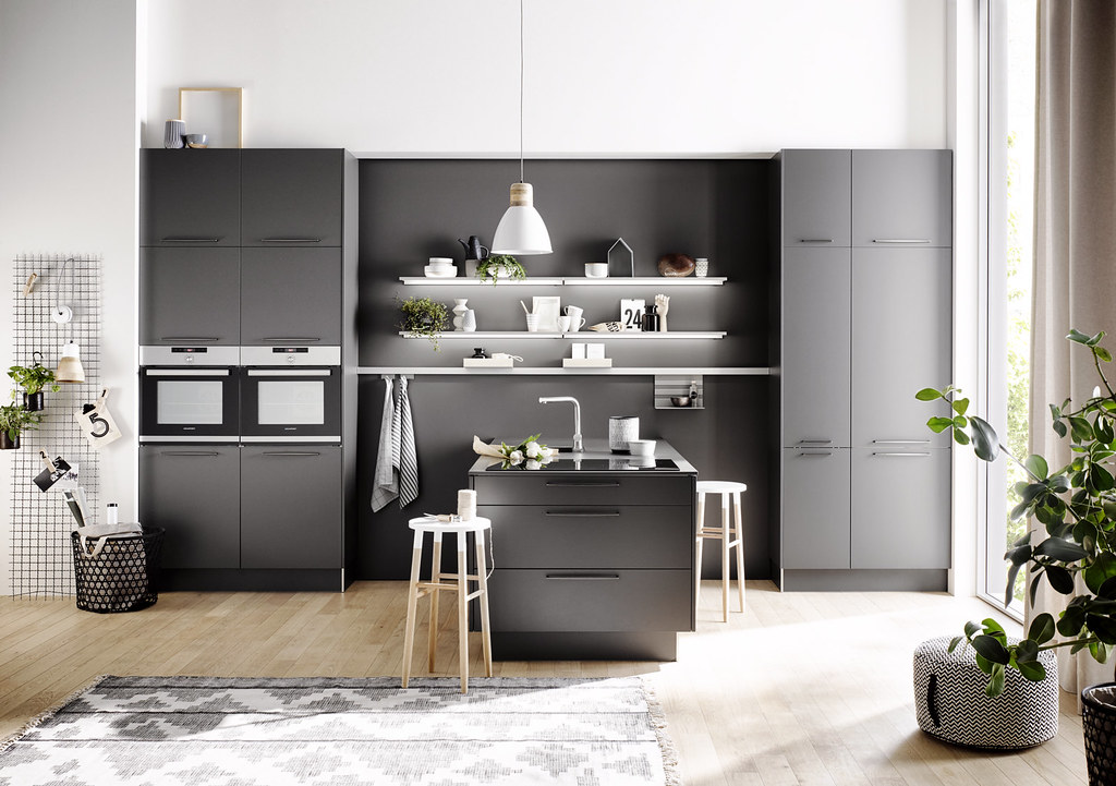 novedades en muebles de cocina 2018. Black Bedroom Furniture Sets. Home Design Ideas
