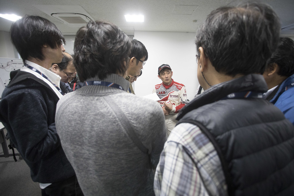 conference de presse press conference MICHIGAMI Ryo (jpn) Honda Civic team Honda racing team Jas ambiance during the 2017 FIA WTCC World Touring Car Championship race at Motegi from october 27 to 29, Japan - Photo Gregory Lenormand / DPPI