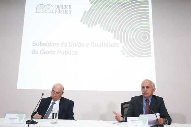 Diálogo Público sobre subsídios da União e Qualidade do Gasto Público