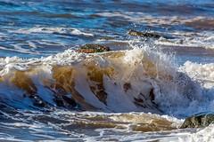 Dennis Beach, NB at high tide