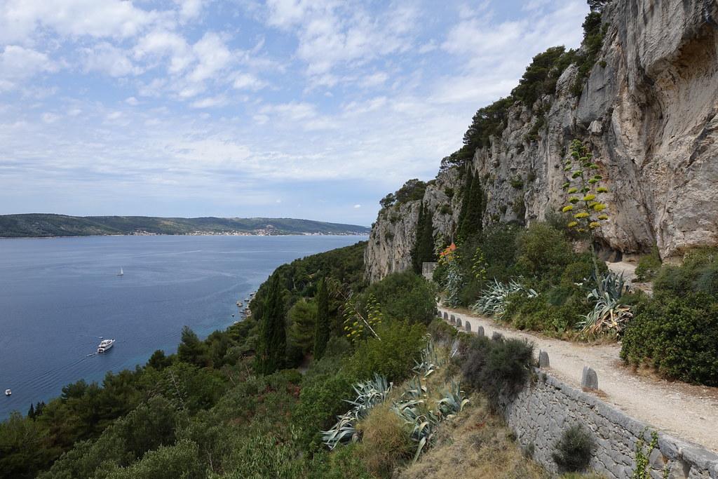 View from Marjan hill, Split