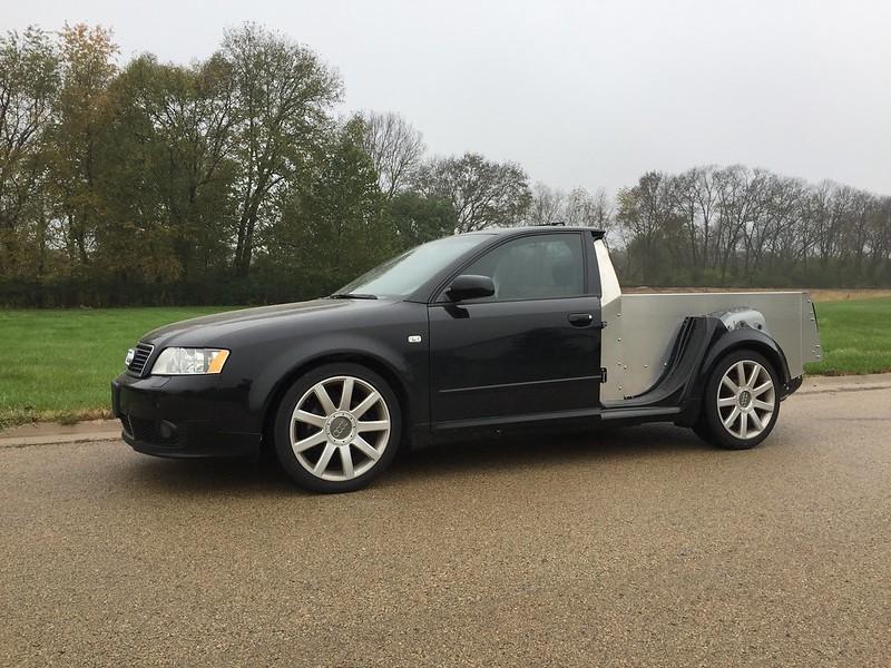 Audi Ute Build - Smyth Performance Kit