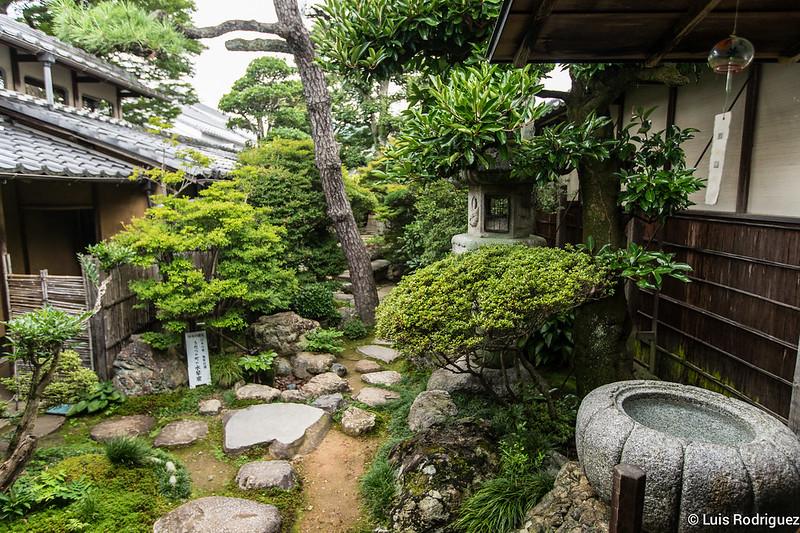 Jardín de la residencia Imai
