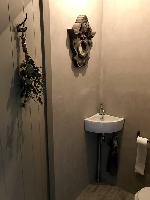 Toilet beton cire