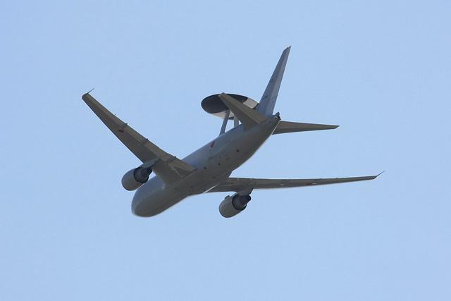 警戒航空隊 第602飛行隊 E-767 74-3503 IMG_3895_2