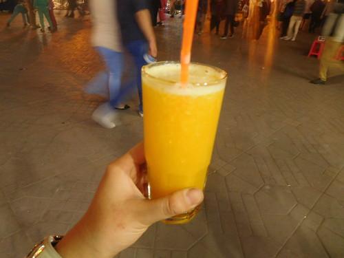 オレンジジュースはフレッシュ過ぎてやばい