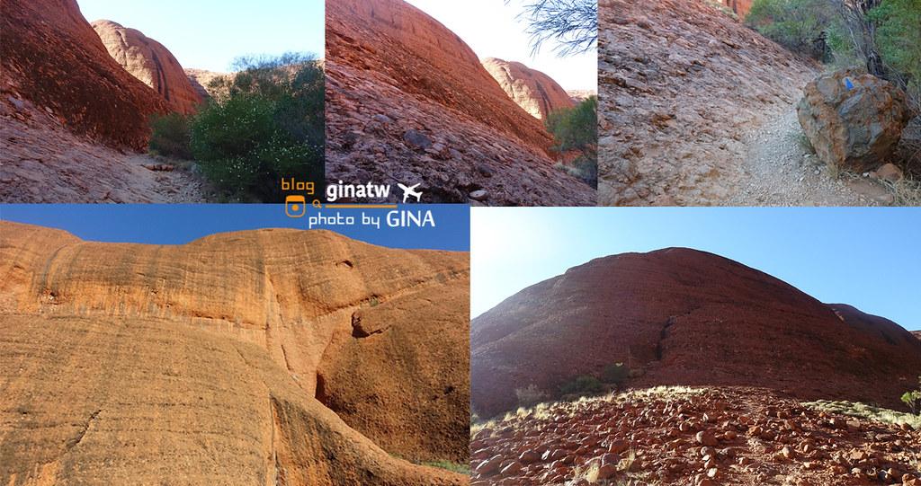 【烏魯魯景點】風之谷卡塔丘塔(Valley of the Winds – Kata Tjuta)爬比烏魯魯還大的神秘石頭囉! @GINA環球旅行生活|不會韓文也可以去韓國 🇹🇼