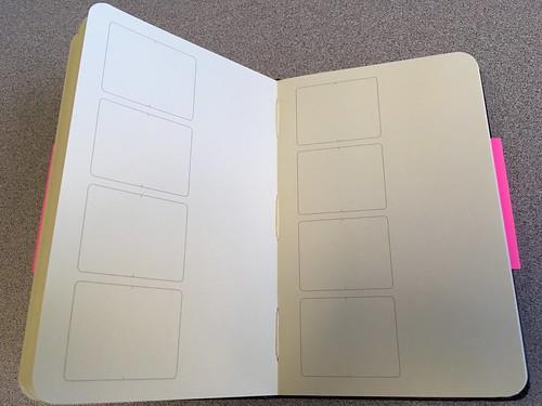 Moleskin Storyboard book