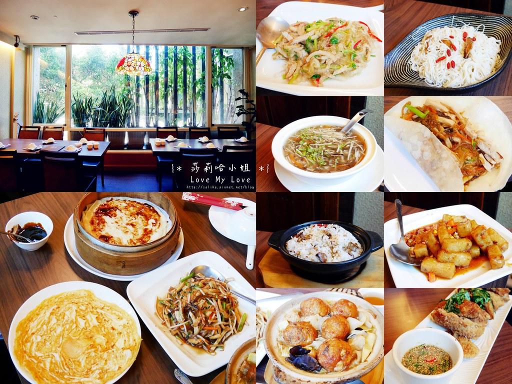台北士林站好吃素食餐廳推薦毫光餐飲回田蔬苑 (33)