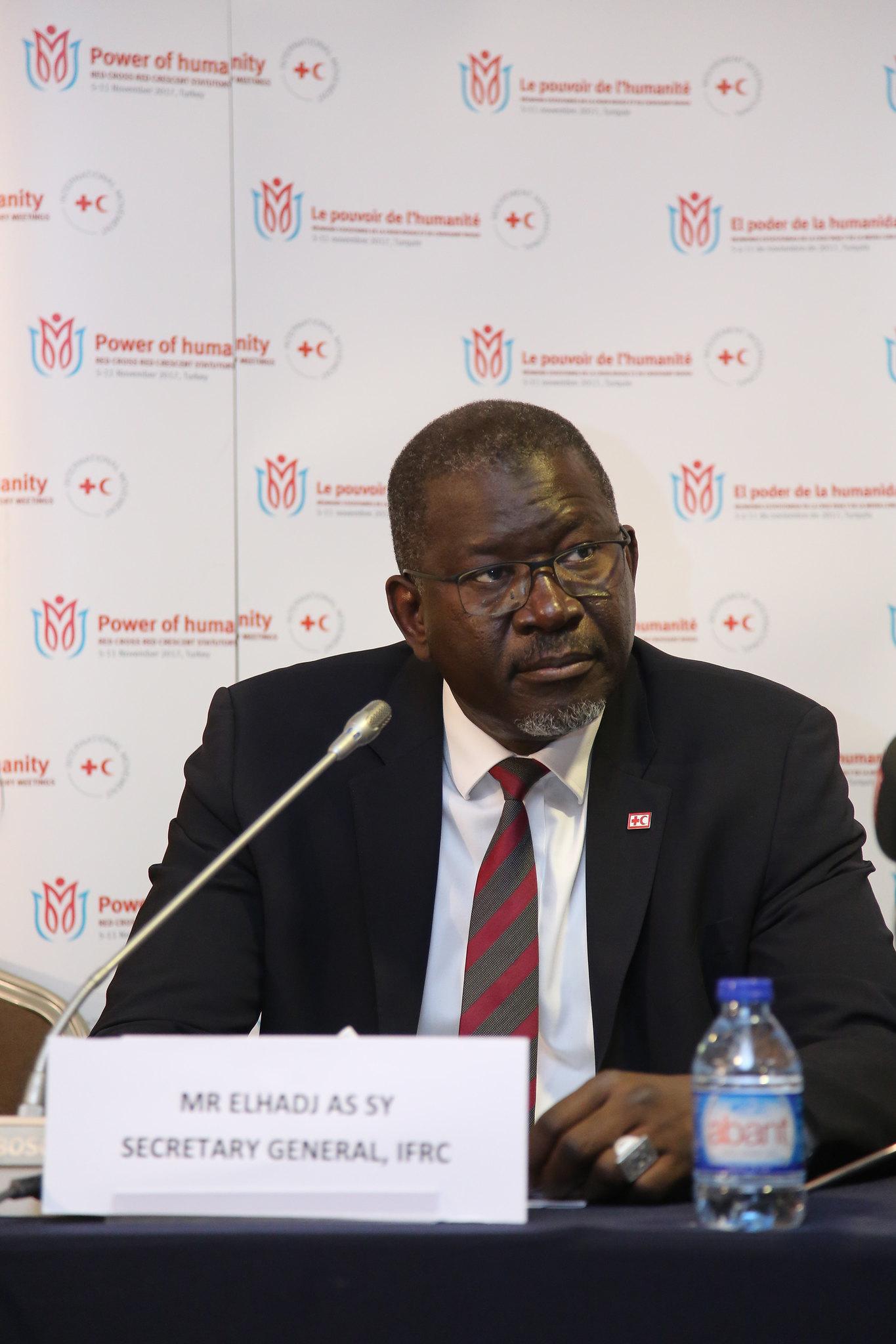 IFRC Genel Sekreteri Elhadj As Sy