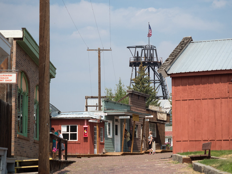 World Museum of Mining in Butte, Montana