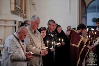 Литургия в Хутынском монастыре 375