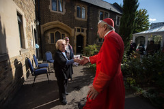 Cardinal Vincent's visit to St Mary's Church and Blessing of the St Joseph's Almshouses on Cadogan Street