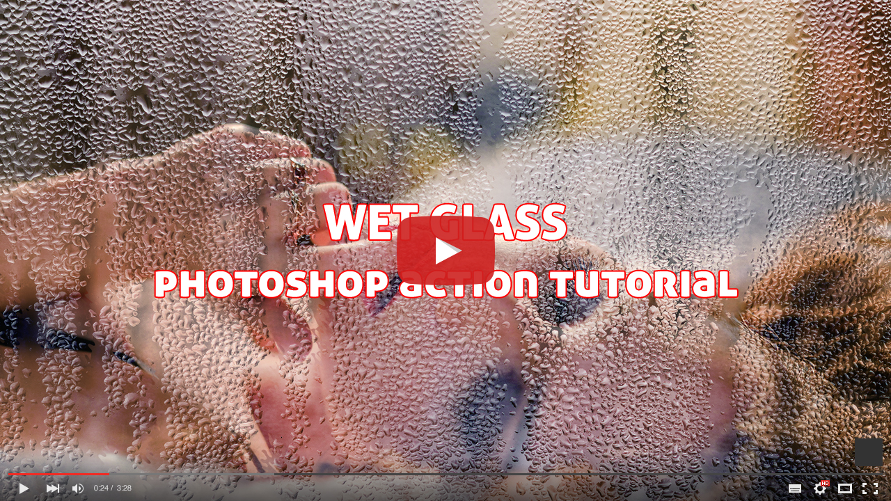 Wet Glass Tutorial