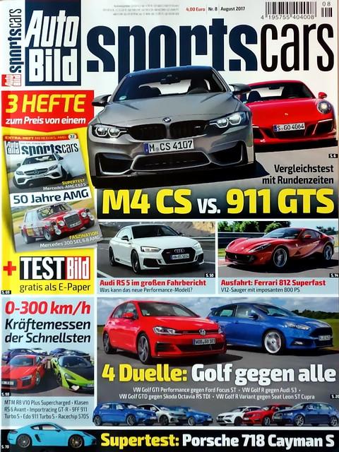 Auto Bild Sportscars 8/2017