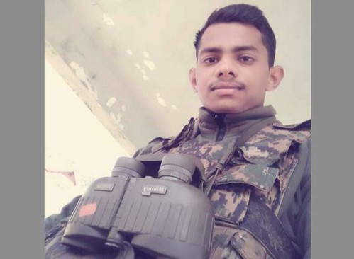 soldier R. Narendra