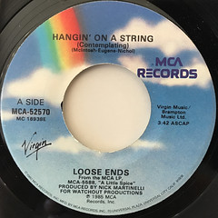 LOOSE ENDS:HANGIN' ON ASTRING(LABEL SIDE-A)
