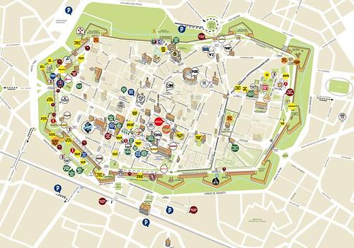Lucca Comics e Games 2017 Mappa