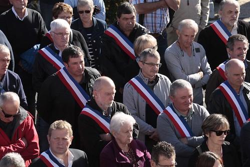 Rassemblement de soutien à la filière avicole à Castelnau-Chalosse