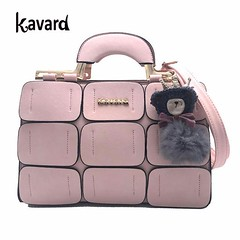 Ladies Hand Bag Leather Famous Brands Suture Boston Inclined Shoulder #handbag #brands #leather #kindlecup https://kindlecup.com/collections/bags-and-purse/products/ladies-hand-bag-leather-famous-brands-suture-boston-inclined-shoulder