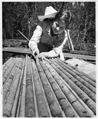 Geologist Diann Jusula