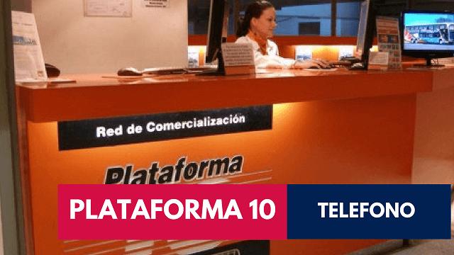 teléfono de Plataforma 10