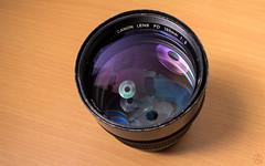 Canon nFD 135mm f2 // Vivitar SMS MC Close Focus Wide Angle 28mm 1:2.8