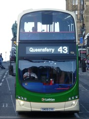 Lothian 936 in Frederick Street, Edinburgh