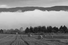 Mist Inversion, Castle Craig, Black Isle