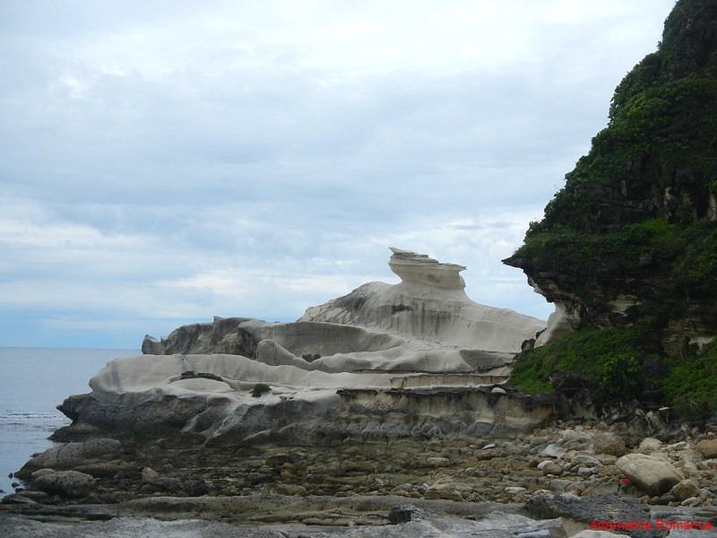 Kapurpurawan Rock Formations