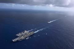 USS Theodore Roosevelt (CVN 71) in 7th fleet