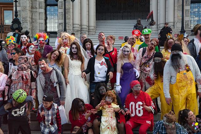 Victoria Zombie Walk - 2017 (44)