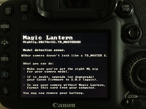 Porting a Canon firmware update