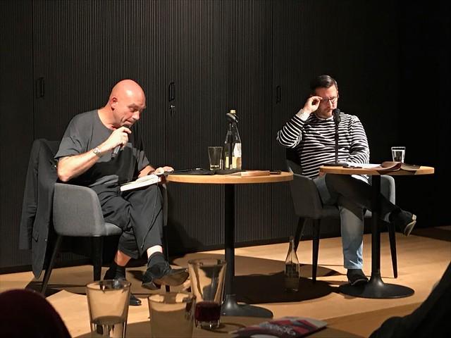Meere. Lesung Litforum Mousonturm Frankfurtmain 10.10.2017. Mit Björn Jager.