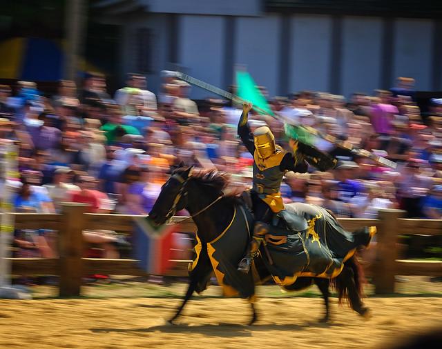 Joust at the Renaissance Faire