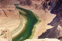 Partial View of Horseshoe Bend in Arizona State, United States of America.