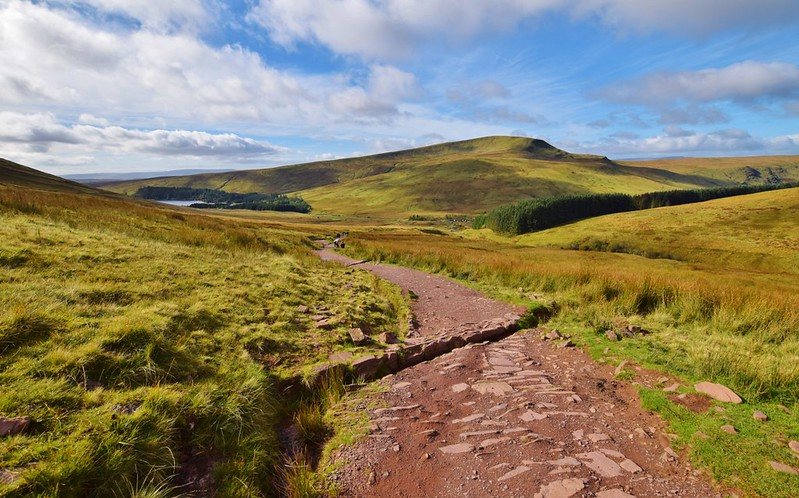 Pen y Fan hike in the Brecon Beacons
