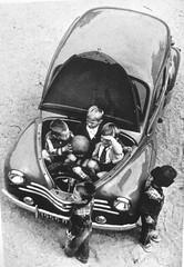 1950s RENAULT 4CV Berline Family Car