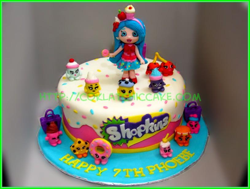 Cake Shopkins - PHOEBE