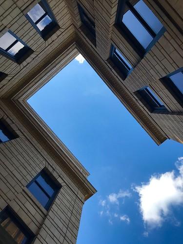 #exploreKU while looking up