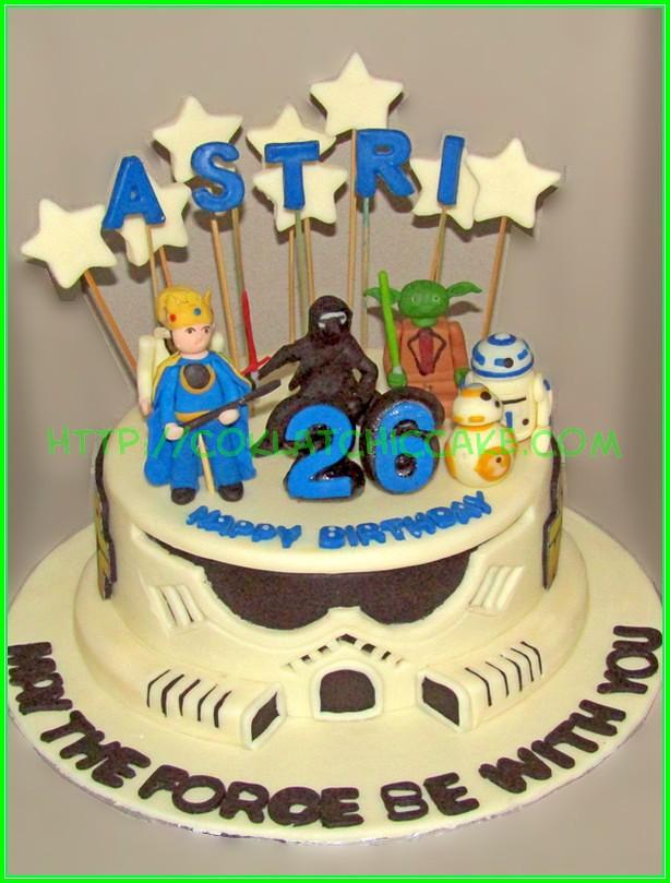 cake starwars ASTRI