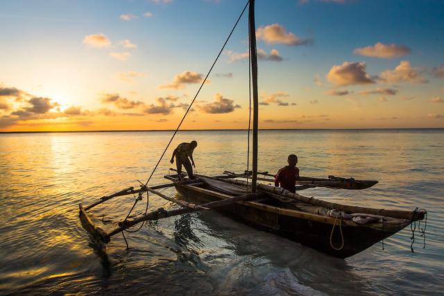 Fisherman's Boat of Zanzibar