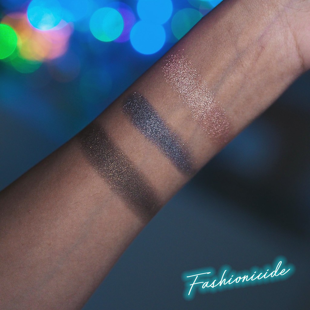 Illamasqua Powder Eyeshadows Swatches