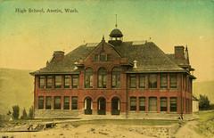 High School, 1913 - Asotin, Washington