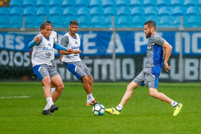 Treino Grêmio 10/10/17