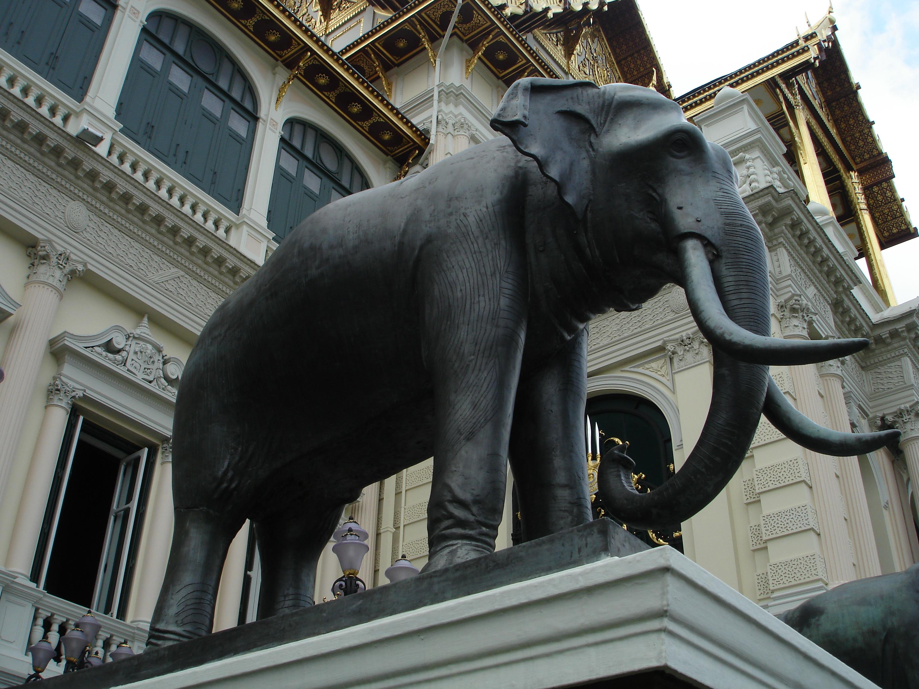 Grand Palace in Bangkok. Photo taken by Mark Jochim on May 17, 2006.