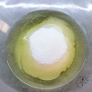 egg white and sugar