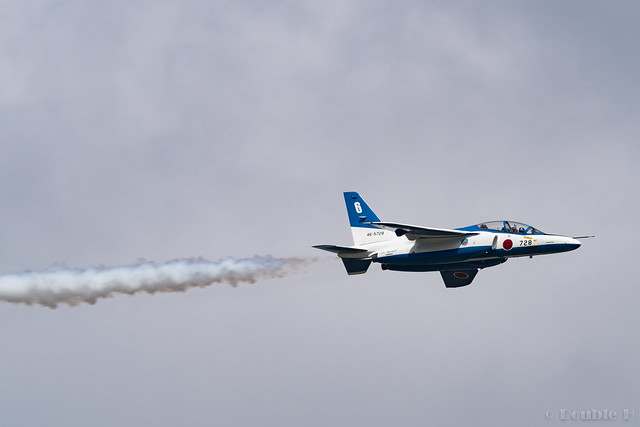 JASDF Chitose AB Airshow 2017 (121) Blue Impluse No.6