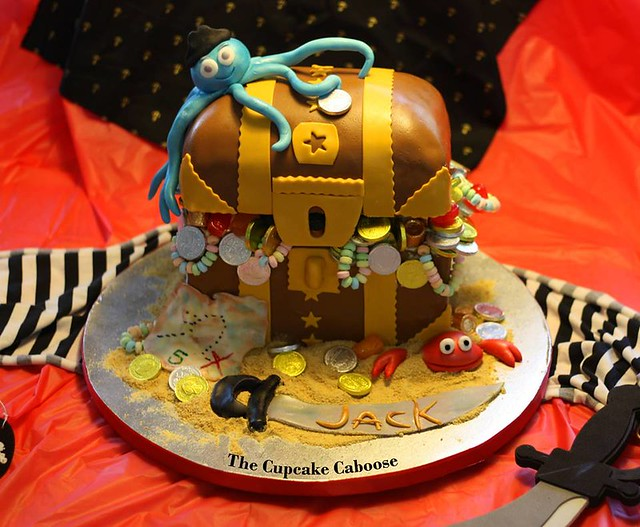 Cake by The Cupcake Caboose